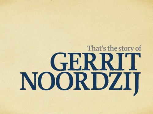 Story of Gerrit Noordzij